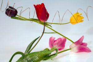 Ilustración de Cómo hacer Flores Artificiales