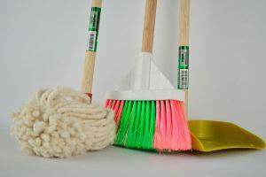 Ilustración de Consejos de Limpieza para Hogares y Empresas