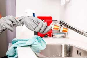 Ilustración de Consejos para limpiar el hogar rápidamente