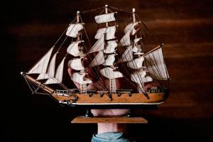 Ilustración de Cómo armar tu propia maqueta de barco