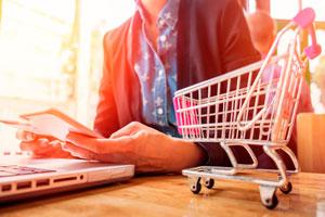 Ilustración de Cómo encontrar ofertas online