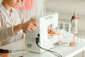 Ilustración de Conociendo un poco sobre las máquinas de coser