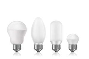 Ilustración de Apuesta por las bombillas LED