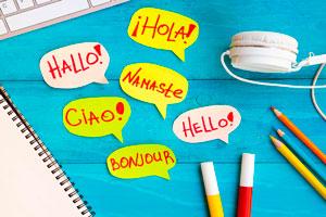 Ilustración de Cómo aprender un idioma con subtítulos