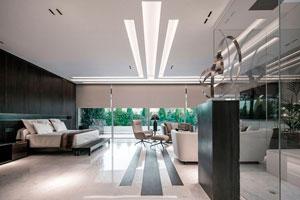 Ilustración de Nuevas tendencias y consejos para decorar casas modernas y minimalistas