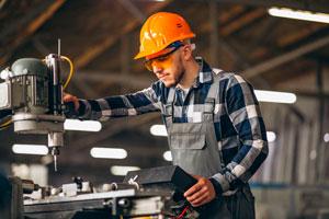Ilustración de Cómo usar herramientas industriales de forma eficiente y segura