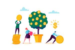 Ilustración de Como invertir tu dinero y garantizar un futuro estable