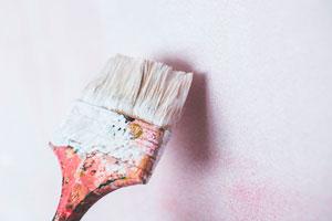 Ilustración de Tecnología y color para pintar espacios con el mejor producto