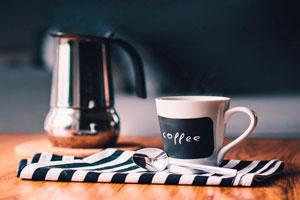 Ilustración de Beneficios del café para la salud