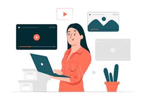 Ilustración de Cómo editar de manera rápida y sencilla un video vía online