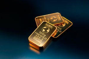 Ilustración de El oro: motor de la economía mundial que siempre se mantiene vigente