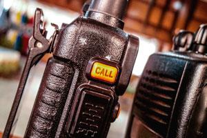 Ilustración de ¿En qué casos se utilizan los radios portátiles?