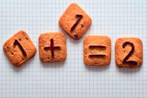 Ilustración de Beneficios de las matemáticas en los niños