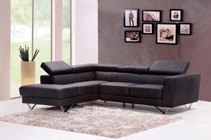 Ilustración de Cómo tapizar un sofá cheslong