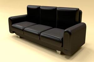 Ilustración de Cómo limpiar sofás